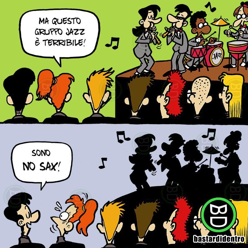 No Sax