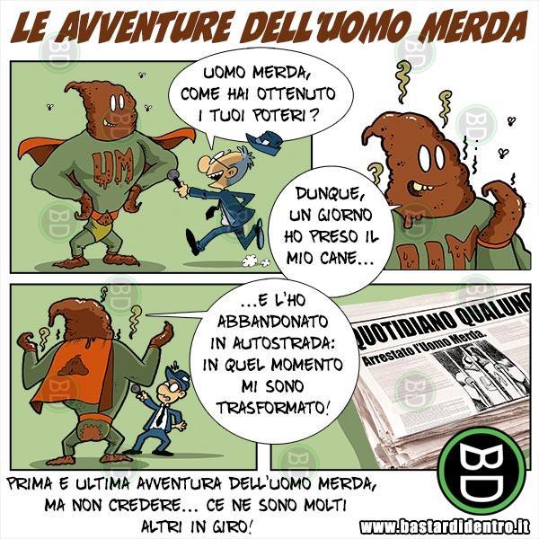 Le avventure dell'Uomo-Merda