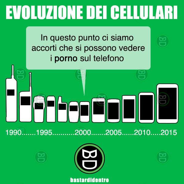 L'evoluzione dei cellulari