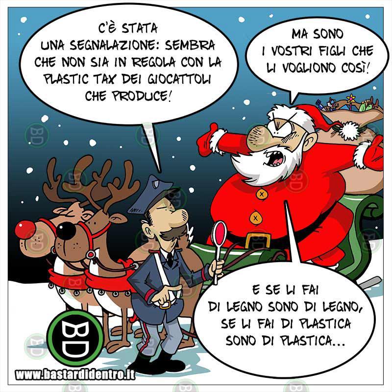 Plastic Tax a Natale