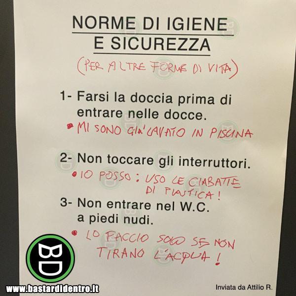 Norme di igiene e sicurezza