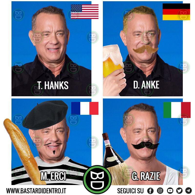 Tom Hanks ringrazia