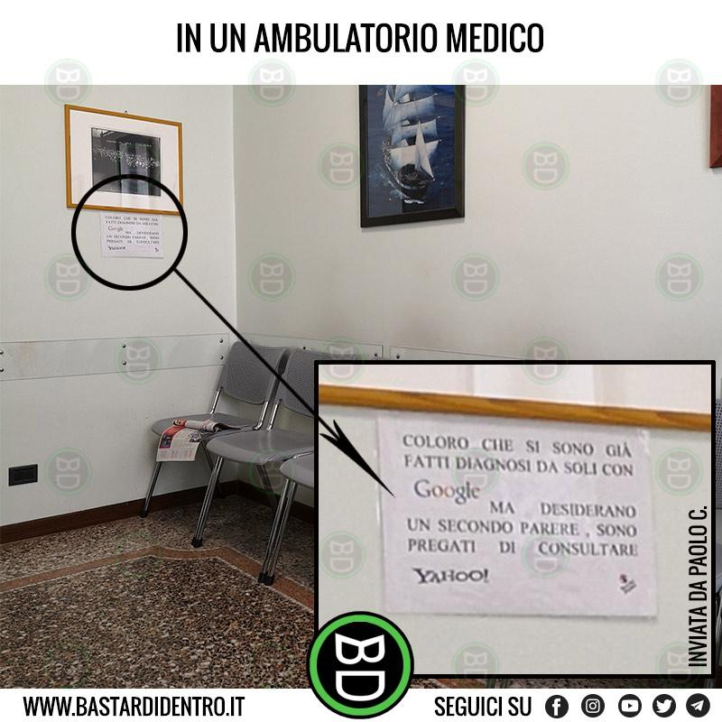 In un ambulatorio