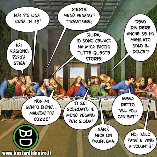 La cena di gruppo