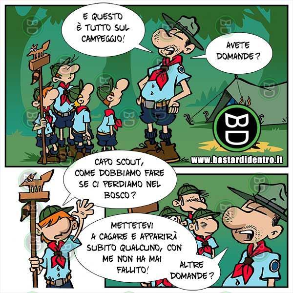 Trucco degli scout