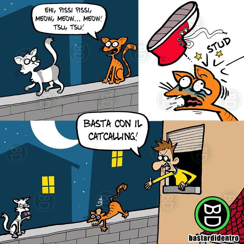 Basta con il catcalling