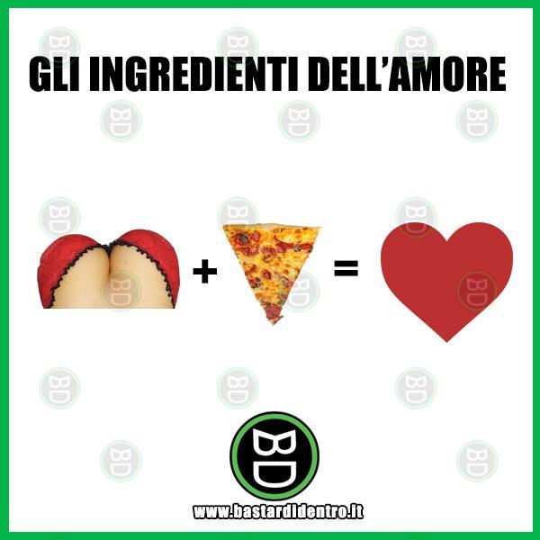 Gli ingredienti dell'amore