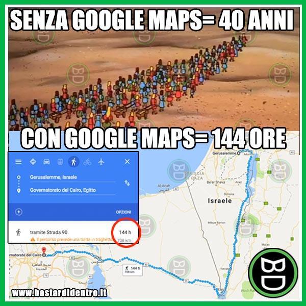 Grazie Google Maps