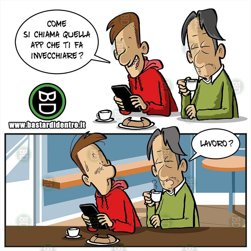 Invecchiare senza app