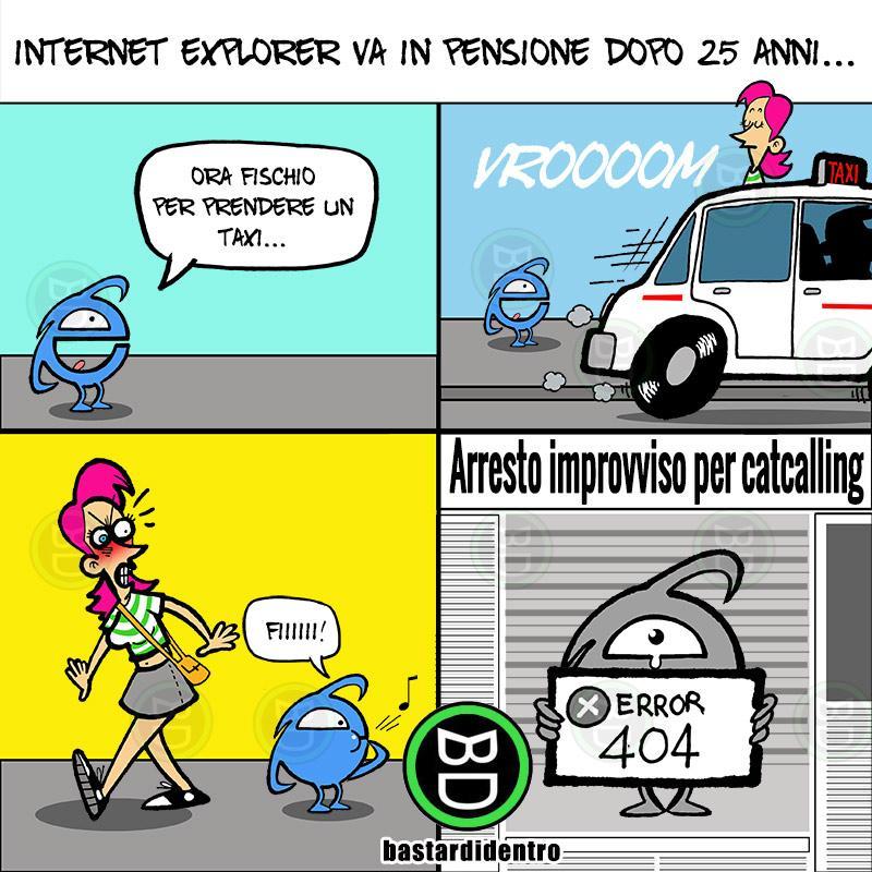 Internet Explorer va in pensione