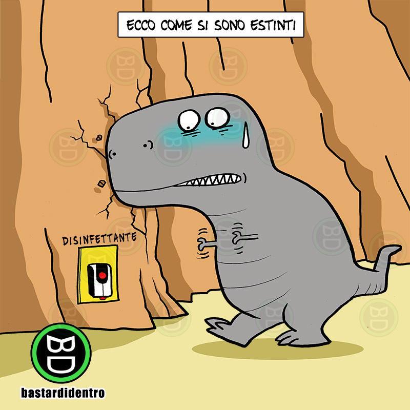 Dinosauri poco attenti