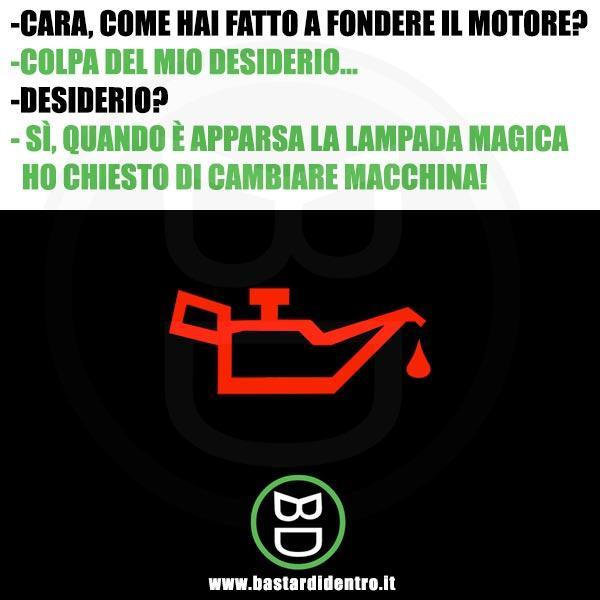 Lampada magica in auto