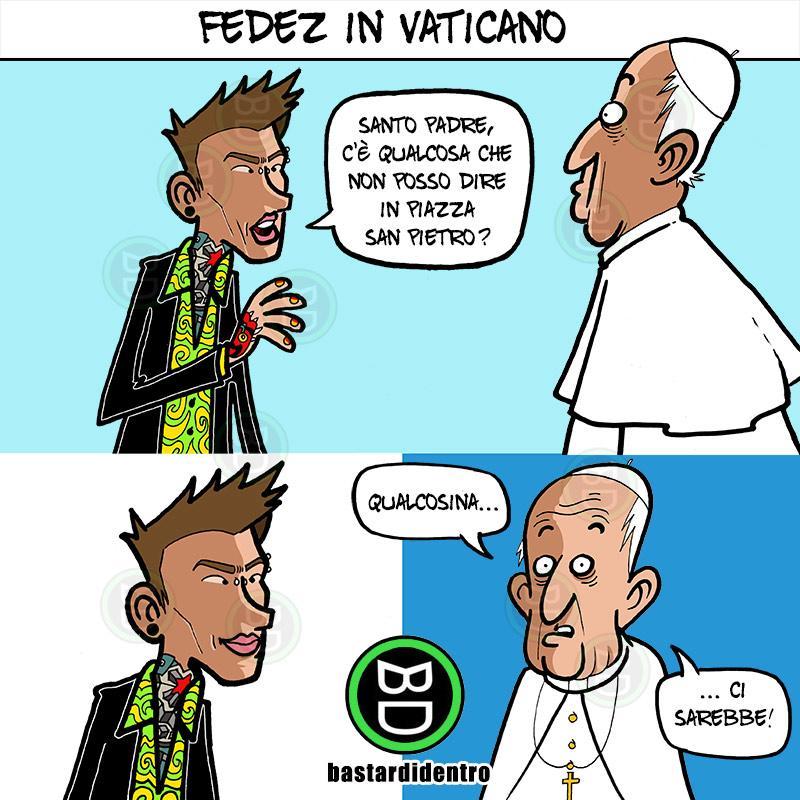 Fedez in Vaticano