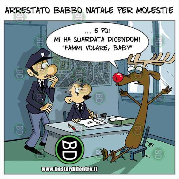 Babbo Natale Immagini Divertenti.Arrestato Babbo Natale Immagini E Vignette Divertenti