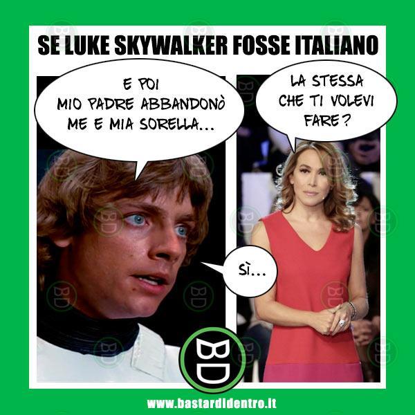 Se Luke Skywalker fosse italiano