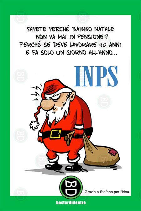Immagini Simpatiche Babbo Natale.Bastardidentro